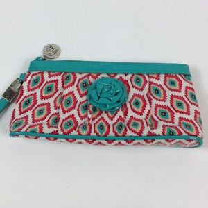 Vera Bradley patent leather pouch